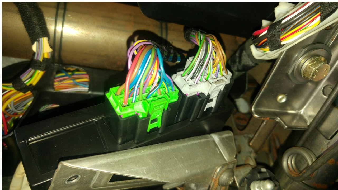 mk1 golf gti wiring diagram 1976 corvette volkswagen iv install keyless system youtube