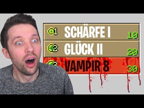 Wir TESTEN die NEUE VAMPIR VERZAUBERUNG! - Minecraft