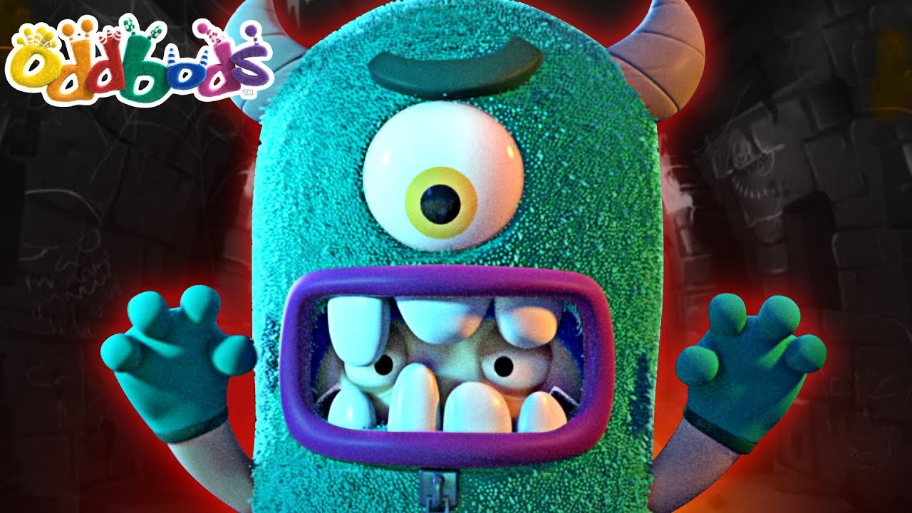 Oddbods | MONSTER OF ODDSVILLE | NEW | Oddbods Full Episodes | Funny Halloween Cartoon For Children