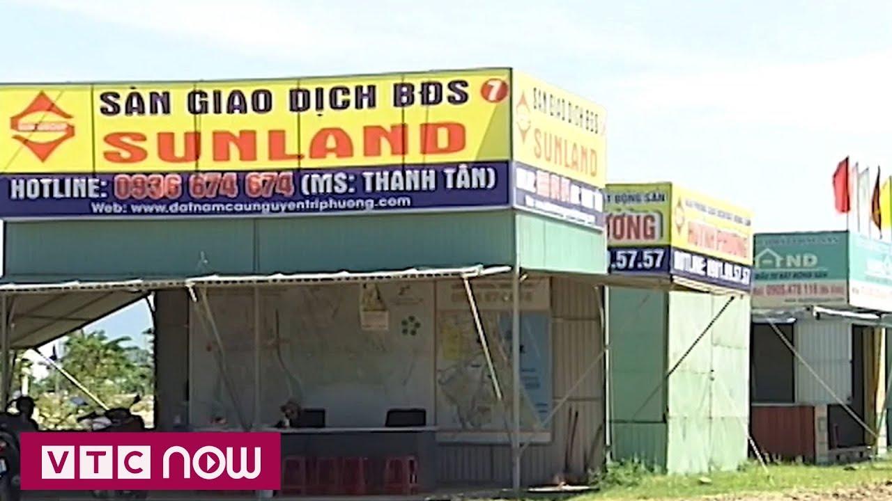 """Các """"ông lớn"""" rút, bất động sản Đà Nẵng """"hạ nhiệt""""   VTC1"""