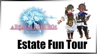 FC Estate Tour (60fps Final Fantasy XIV A Realm Reborn Random Moment)