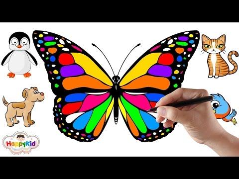 วาดรูปสัตว์ | ระบายสีรูปสัตว์ | เรียนรู้ชื่อสัตว์ | เปิดไข่เซอร์ไพรส์ | Learn Animal Names