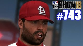 THE DUMBEST I'VE EVER LOOKED! | MLB The Show 18 | Road to the Show #743