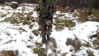 Ореинтирование в зимнем лесу с помощью GPS