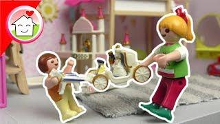 Playmobil Film deutsch - Anna und Lena streiten sich - Familie Hauser Spielzeug Kinderfilm