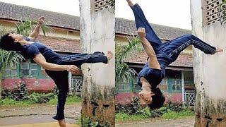 Tiger Shroff39; Showing Amazing Dance Moves  Mithibai College festival KSHITIJ 2014