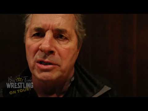 Bret Hart INTERVIEW about pink tinks & Owen Hart in the Hall of Fame