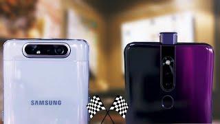 Samsung Galaxy A80 vs Oppo F11 Pro | Camera, Speed Test, Price in india