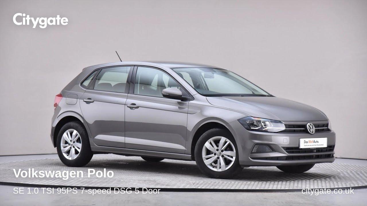 Volkswagen Polo - SE 1.0 TSI 95PS 7-speed DSG 5 Door - Citygate Volkswagen Watford - YouTube