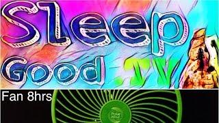 relaxing fan 8hrs deep sleep meditation evening sky video sound hd