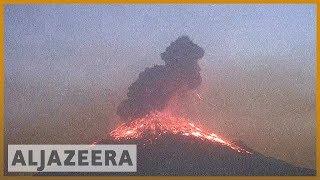People unfazed even as Mexico&#39s Popocatepetl spews lava, ash Al Jazeera English