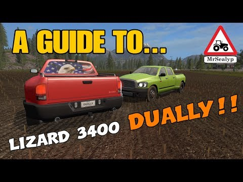 A Guide to... LIZARD 3400 DUALLY!! New Mod! Farming Simulator 17 PS4. Review. thumbnail