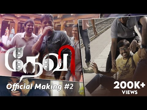Devi(L) - Official Making Video 02 | Prabhudeva | Tamannaah | Sonu Sood | RJ Balaji | Vijay