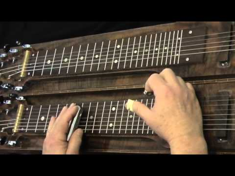 Lap Steel Guitar Lesson, Pedal Steel Sounds with C6th Tuning