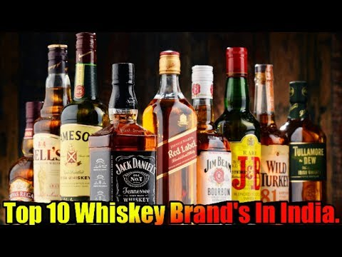 Top 10 Best Whiskey Brand's In India | 2019 | Popular Brands |