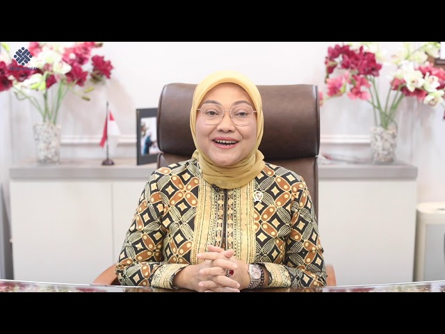 H.E. Ida Fauziyah,  Minister of Manpower of Indonesia
