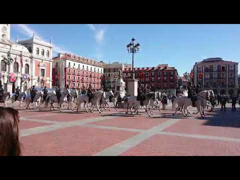 La Policía desfila ya por Valladolid