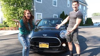 SURPRISING MY GIRLFRIEND WITH A NEW CAR!!