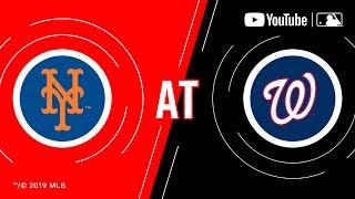 Mets At Nationals | Mlb Game Of The Week Live On Youtube