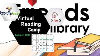 2020 Virtual Reading Camp