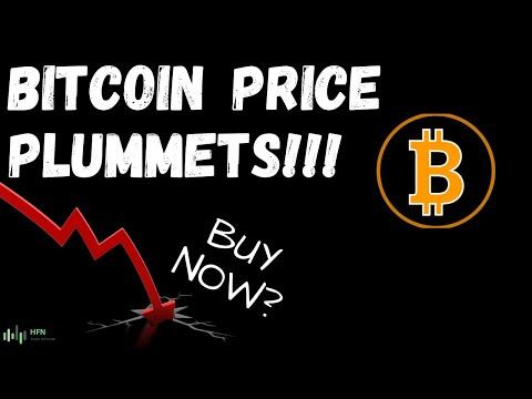 BITCOIN (BTC) PRICE PLUMMETS!!!! - BUY NOW?