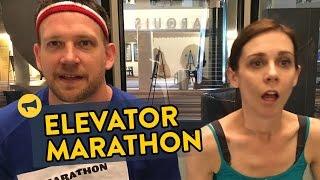 Elevator Marathon Prank
