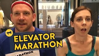 Elevator Marathon Prank by : Improv Everywhere