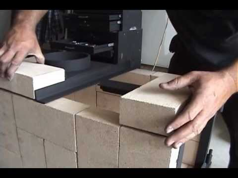 Brick Amp Flame Wood Stove By Mr Energy Youtube