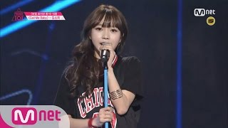 [Produce 101] 1:1 EyecontactㅣKim So Hee - EXO ♬CALL ME BABY @ Position Eval.(VOCAL) EP.07 20160304