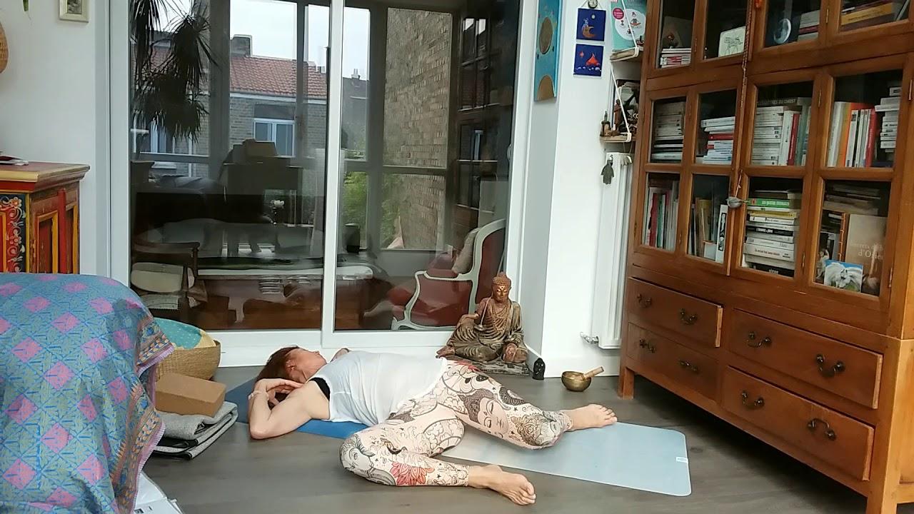 Une séance yoga pour le système digestif et la colonne vertébrale