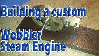 Building a precision oscillating steam engine: Part 4