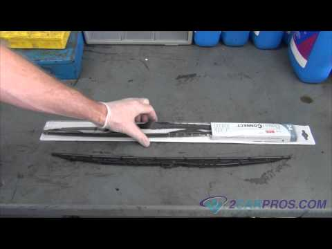 Windshield Wiper Replacement Toyota Corolla 2000-2008