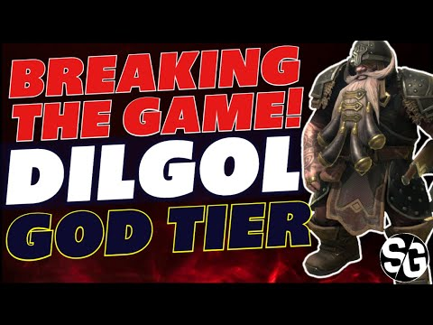 A god RARE! Dilgol guide Raid shadow legends Dilgol rare void champion gameplay