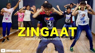 ZINGAAT Dance Choreography | Class Video | Adv. Kids | Deepak Tulsyan Choreography