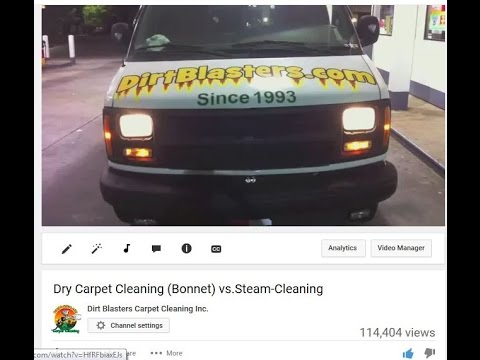 Dry Carpet Cleaning (Bonnet) vs.Steam-Cleaning