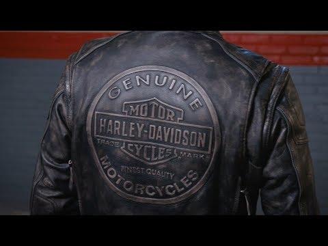 Dauntless Convertible Leather Jacket | Harley-Davidson