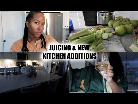 JUICING & NEW KITCHEN ADDITIONS
