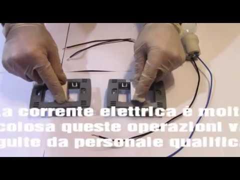 Schema Elettrico Per Due Punti Luce : Accendere una luce da due punti di comando collegare due