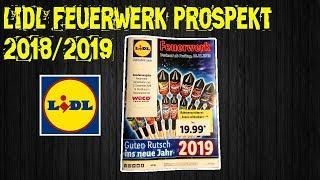 LIDL FEUERWERK PROSPEKT 2018/2019