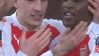 Арсенал - Сандерленд (3-1) 09.01.2016 Кубок Англии - Обзор матча