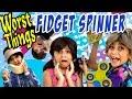 Fidget Spinner - 10 Worst Things : RELATABLE // GEM Sisters の動画、YouTube動画。