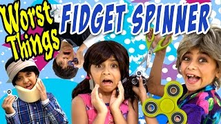 fidget spinner 10 worst things relatable gem sisters