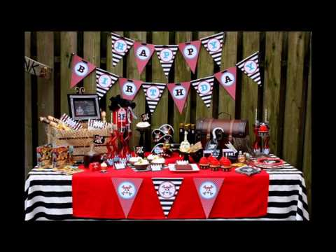 Awesome Pirate party decorations