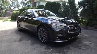 2018 Infiniti Q50 Red Sport Refresh Review | Auto Fanatic