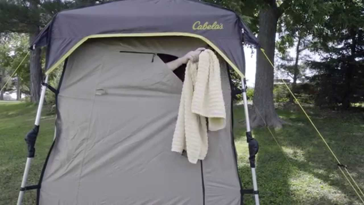 EasyUp Deluxe Shower Shelter by Cabelas  Camp Cabelas