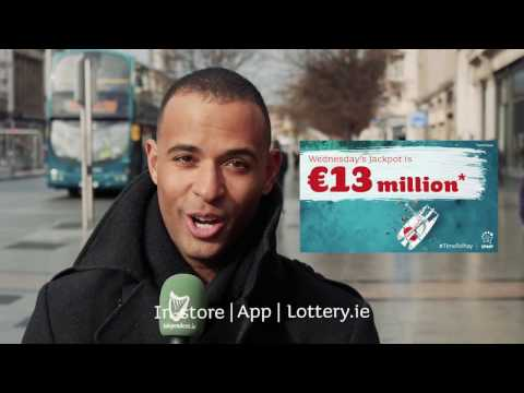 What would you do with a €13 million Lotto win?