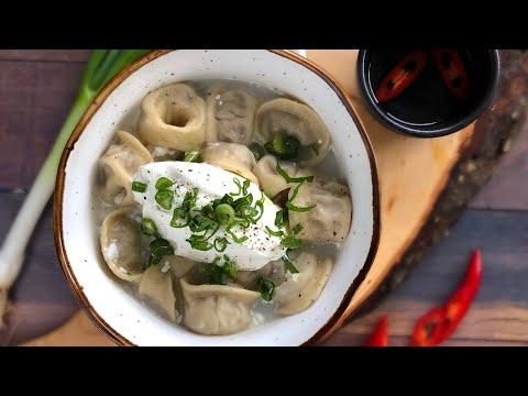 Как сделать настоящие русские пельмени - Меню ресторана  - Смотрите как мы готовим для вас
