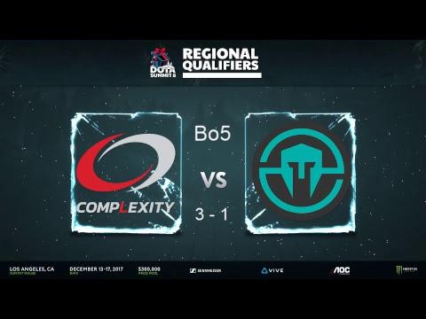 [DOTA 2 EN LIVE] Complexity vs Immortals - Bo5 | Summit 8 NA Qualifiers w/ @GrandGrant