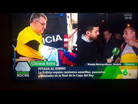 El Reino de España prohibe el color amarillo y la palabra LIBERTAD... España es ya casi Turquía.