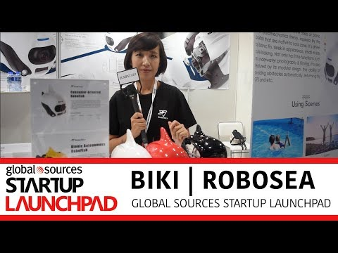 Meet the World's First Underwater Fish Drone | Global Sources Startup Launchpad
